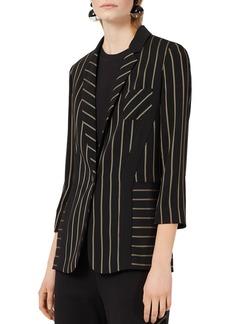 Emporio Armani Lightweight Striped Jacket