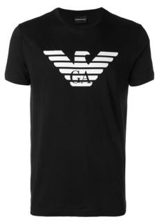 Armani logo printed short sleeve T-shirt
