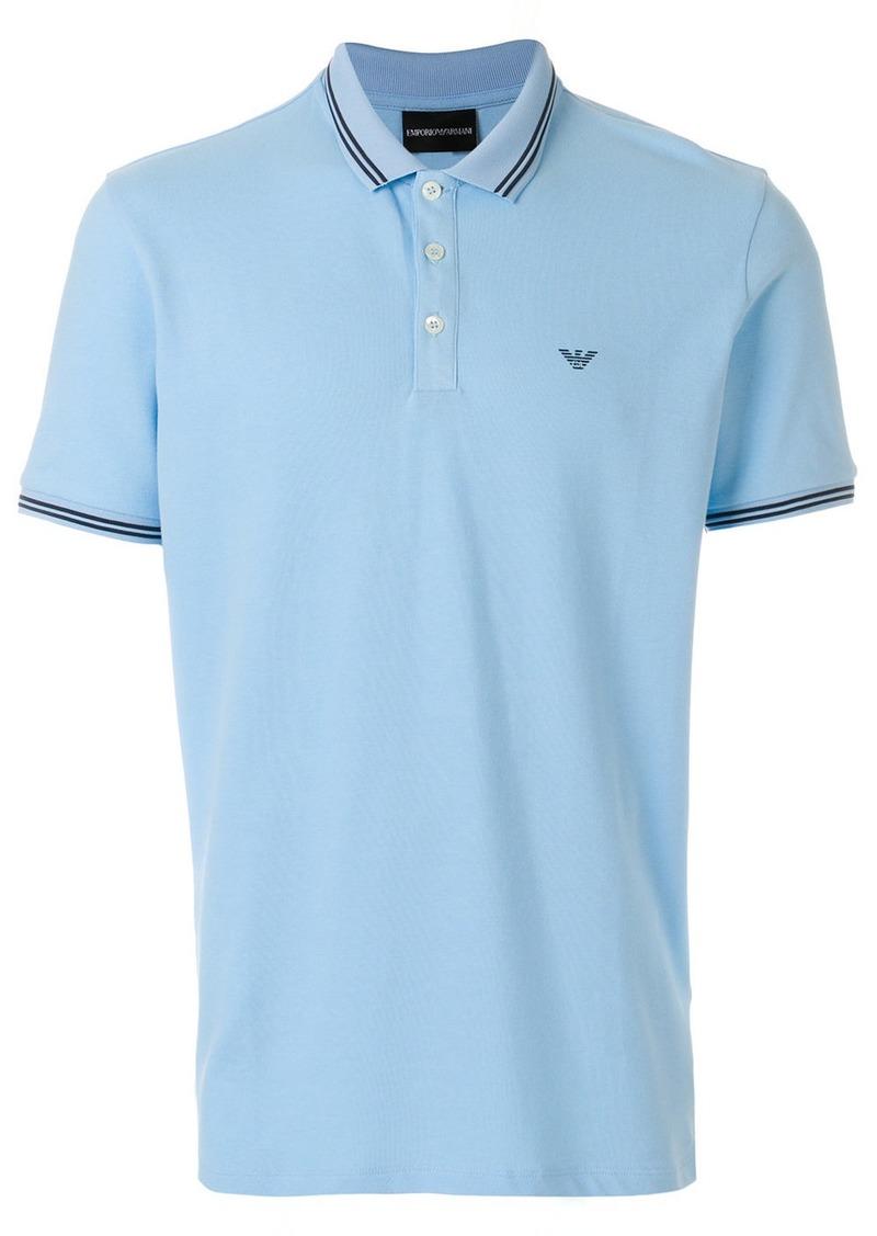 Armani logoed polo shirt