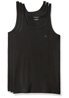 Emporio Armani Men's 3-Pack Tank Top Regular Fit