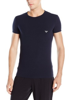 Emporio Armani Men's Athletic Big Eagle Crew Neck T-Shirt