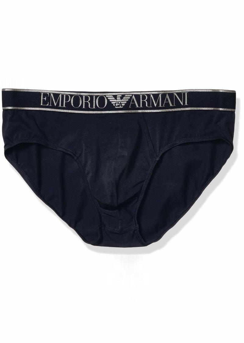 Emporio Armani Men's Big Eagle Brief  L