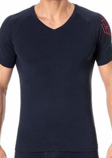 Emporio Armani Men's Big Eagle V-Neck T-Shirt