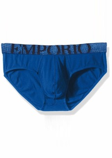 Emporio Armani Men's Big Soft Contrast Brief