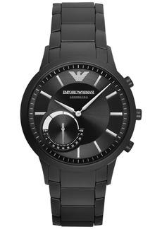 Emporio Armani Men's Black Stainless Steel Bracelet Hybrid Smart Watch 43mm ART3001