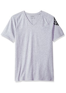 Emporio Armani Men's Bold Eagle V-Neck T-Shirt Slim Fit  M