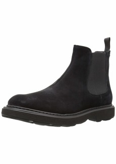 Emporio Armani Men's Casual Chelsea Boot Construction Shoe