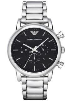 Emporio Armani Men's Chronograph Stainless Steel Bracelet Watch 46mm AR1894