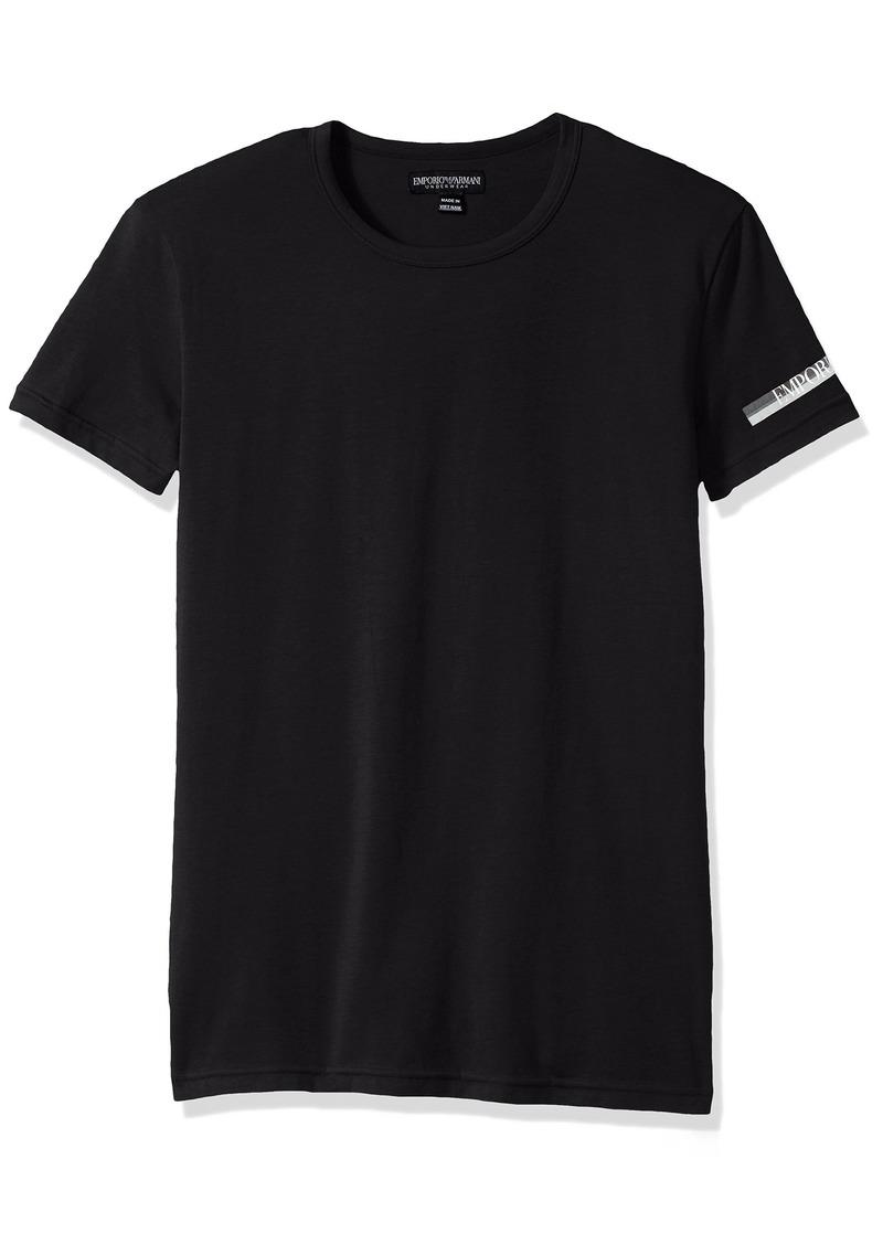 Emporio Armani Men's Color Play Crew Neck T-Shirt