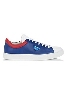 EMPORIO ARMANI Men's Colorblocked Leather Sneakers