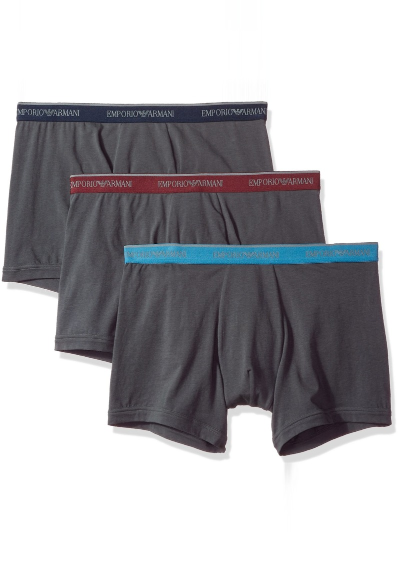 8c661cc7 SALE! Armani Emporio Armani Men's Core Logoband 3-Pack Boxer Brief ...