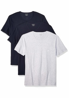 Emporio Armani Men's Cotton Crew Neck T-Shirt