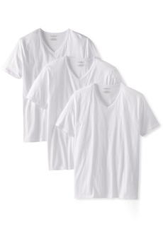 Emporio Armani Men's Cotton V-Neck Undershirts 3-Pack