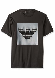 Emporio Armani Men's Designer Logo Tee  XXL