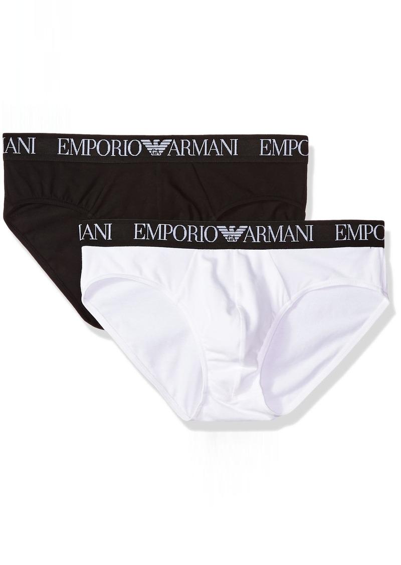 Emporio Armani Men's Endurance 2-Pack Brief