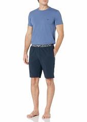Emporio Armani Men's Endurance Pajamas IRIS/Marine L