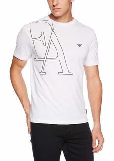 Emporio Armani Men's Fashion Logo Tees  XXL