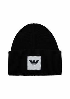 Emporio Armani Men's Hat black Small/Medium