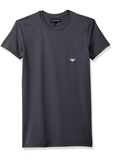 Emporio Armani Men's Iconic Logoband Crew Neck T-Shirt anthracite grey S