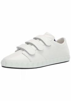 Emporio Armani Men's Leather Velcrow Sneaker  8 Medium UK ( US)