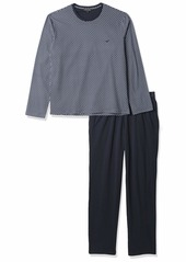 Emporio Armani Men's Loungewear-Pattern Mix Pajama  S