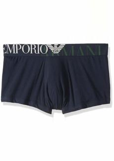 Emporio Armani Men's Mega Logo Trunk