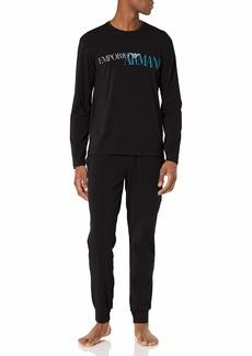 Emporio Armani Men's Megalogo Pajamas  S
