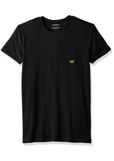 Emporio Armani Men's Metal Eagle Crew Neck T-Shirt  M