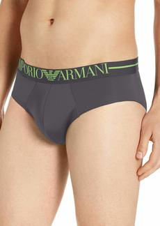 Emporio Armani Men's Microfiber Brief  Extra Large