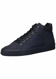 Emporio Armani Men's MID TOP LACE UP Logo Sneaker Night 11 Regular UK ( US)