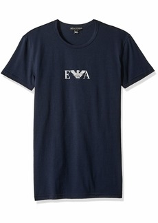 Emporio Armani Men's Monogram Crew Neck T-Shirt