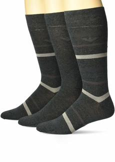 Emporio Armani Men's Multistripes 3 Pack Short Socks