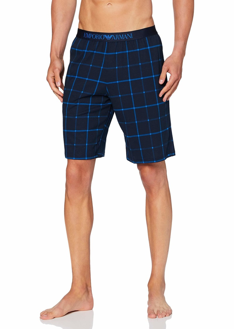 Emporio Armani Men's Pattern Mix Short Pajamas  S