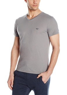Emporio Armani Men's Pima Cotton V-Neck T-Shirt
