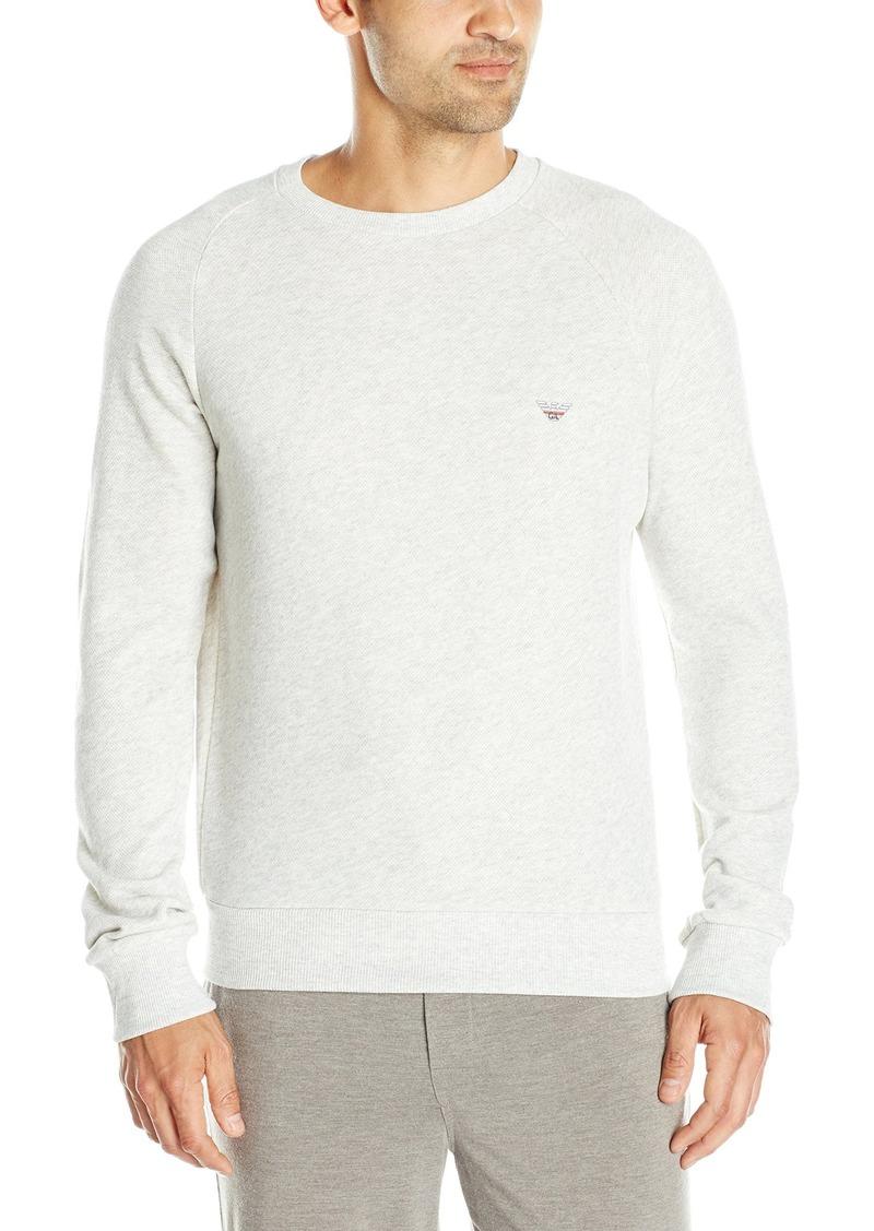Emporio Armani Men's Retro Eagle French Terry Pullover Sweatshirt