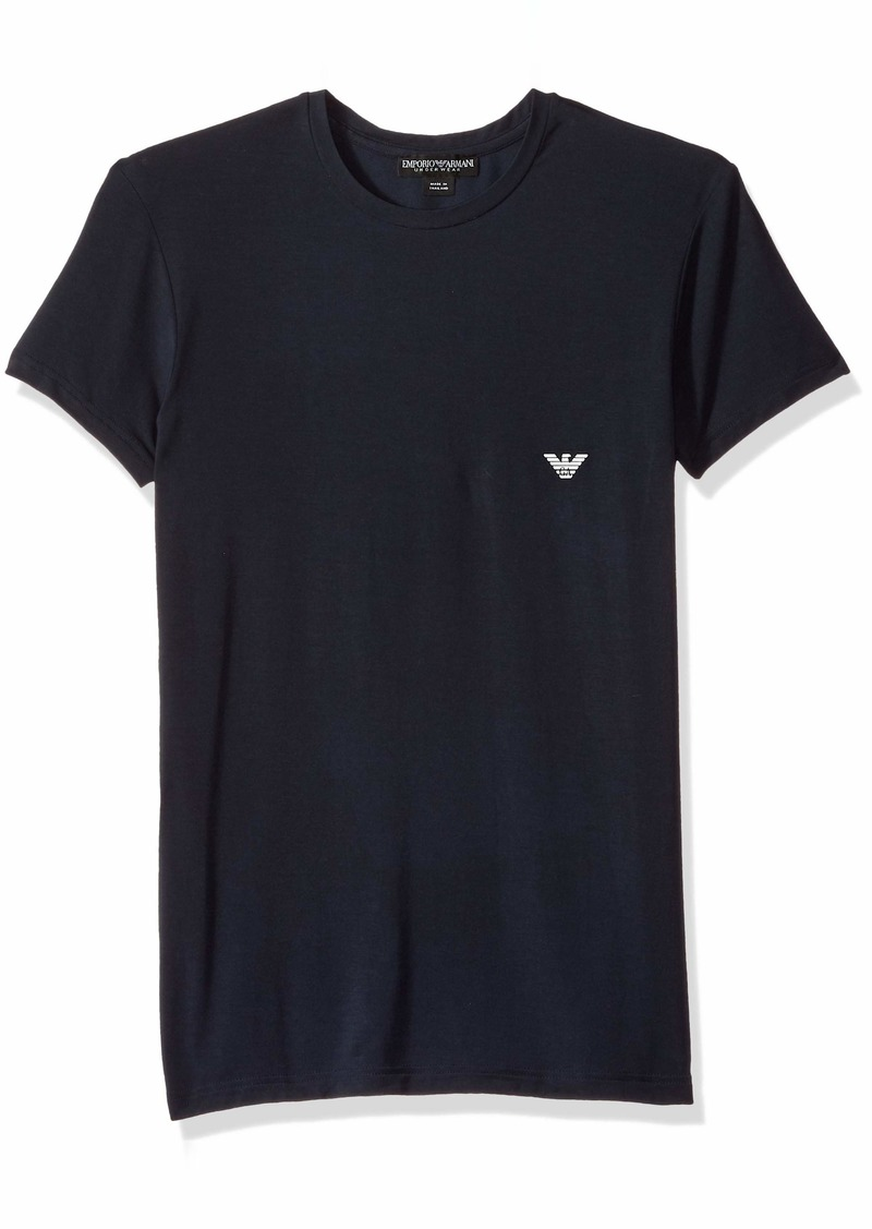Emporio Armani Men's Soft Modal Crew Neck T-Shirt