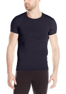 Emporio Armani Men's Solid Microfiber Crew T-Shirt