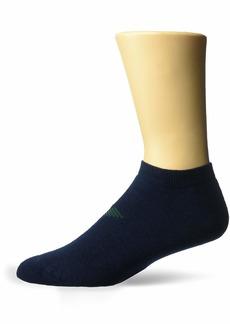 Emporio Armani Men's Sponge Cotton 2 Pack in-Shoe Socks blue Large/X-Large