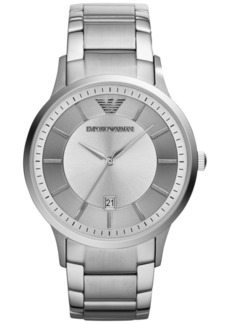 Emporio Armani Men's Stainless Steel Bracelet Watch 43mm AR2478