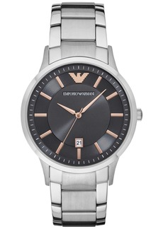 Emporio Armani Men's Stainless Steel Bracelet Watch 43mm AR2514
