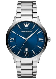 Emporio Armani Men's Stainless Steel Bracelet Watch 44mm
