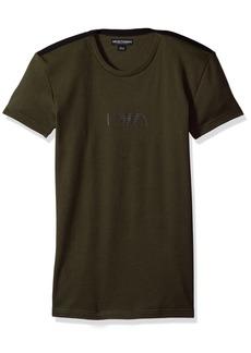 Emporio Armani Men's Stretch Cotton Boot Camp Rib T-Shirt  L