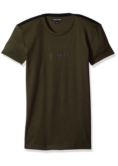 Emporio Armani Men's Stretch Cotton Boot Camp Rib T-Shirt  M