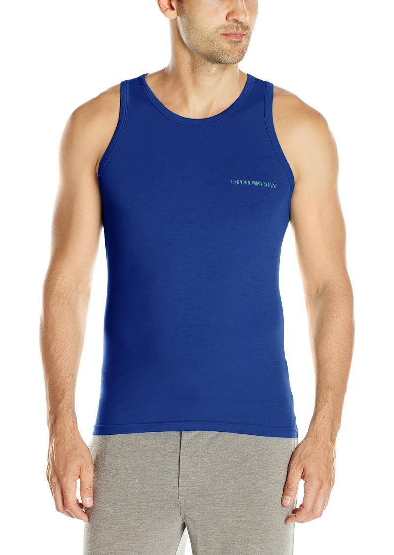 Emporio Armani Men's Stretch Cotton Classic Logo Tank Top