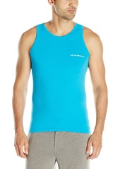 Emporio Armani Men's Stretch Cotton Classic Logo Tank Top