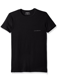 Emporio Armani Men's Stretch Cotton Multipack Crew Neck T-Shirt  L