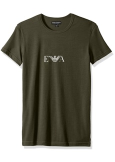 Emporio Armani Men's Stretch Cotton Multipack Crew Neck T-Shirt  M