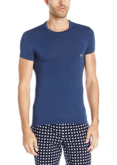 Emporio Armani Men's Stretch Modal Crew Neck T-Shirt