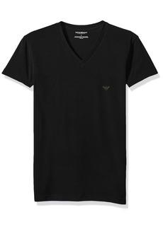 Emporio Armani Men's The Big Eagle Vneck T-Shirt  L