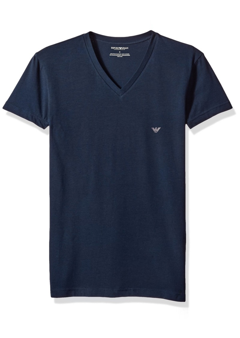 Emporio Armani Men's The Big Eagle Vneck T-Shirt  S